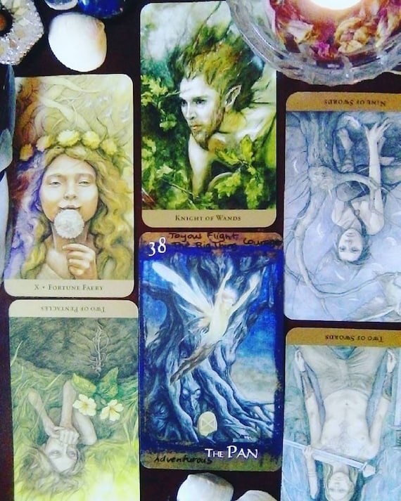 Choose Your Own Question 9 Tarot Cards With 4