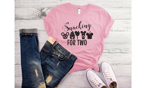 2fb42230568 Snacking for two disney maternity Disney shirt Disney