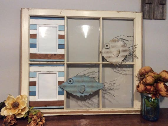 Repurposed Old Window Frame With Nautical Design,Reclaimed Old Window on blue home designs, americana home designs, 2015 home designs, coastal home designs, unusual home designs, winter home designs, nigerian home designs, stylish eve home designs, black home designs, retro home designs, geometric home designs, salmagundi designs, construction home designs, jungle home designs, affordable home designs, antique home designs, top home bar designs, disney home designs, ocean home designs, love home designs,