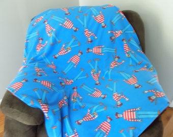 Where's Waldo Fleece Blanket