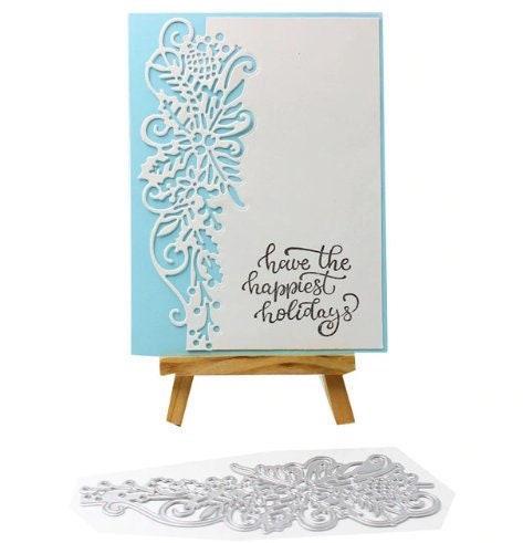Fleur modèle bord coupe métal matrices pochoirs pour décoratif Scrapbooking bricolage/Photo Album gaufrage décoratif pour bricolage papier cartes 819f41