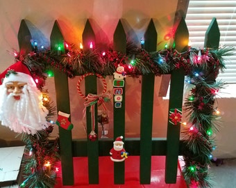 Holiday/ seasonal fences