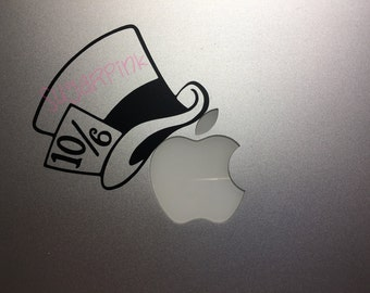 Mad hatter decal