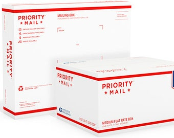 Priority Mail | 1-3 day shipping | USPS