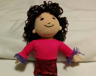 Vintage Groovy Girls Doll with Brunette Hair