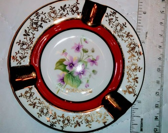 Vintage Limoges Toulouse Ashtray