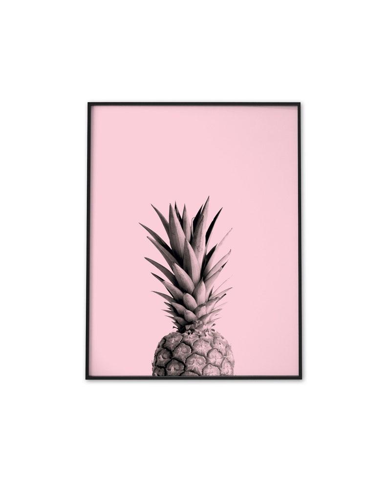 Ananas Rysunek ananas ananas drukuj druk ananas drukuj kwiat ozdoba plakat różowy sztuka  ściana #p090