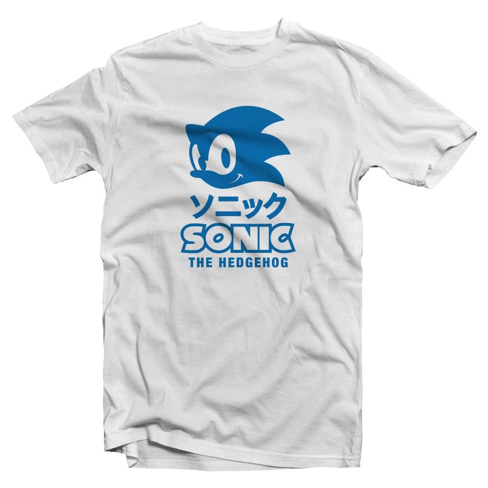 Sonic T Shirtsonic The Hedgehog Teejapanese Etsy