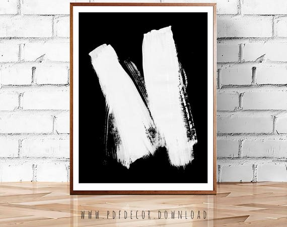 Modern Minimalist, Minimalist Wall Art, Black White Art, Black White Decor, Large Wall Art, Poster, Art, Prints, Minimalist, Abstract  Print