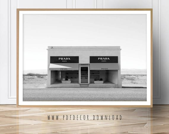 Prada Prints, Fashion Prints ,Art Prints, Prada Marfa, Texas, Prada Poster, Wall Art, Fashion Art, Prada Photo, Fashion Poster, Modern Art