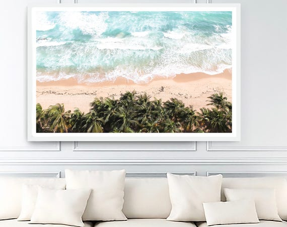 beach style decor, beach landscape, beach decor, beach art, ocean wall mural, poster ocean, coastal posters, ocean decor, coastal decoration