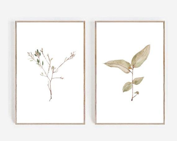 Set of 2 Printables, Farmhouse Print, Minimalist Print, Minimalist Wall art, Set of 2 Wall art, Farmhouse Decor, Art Prints, Digital Prints