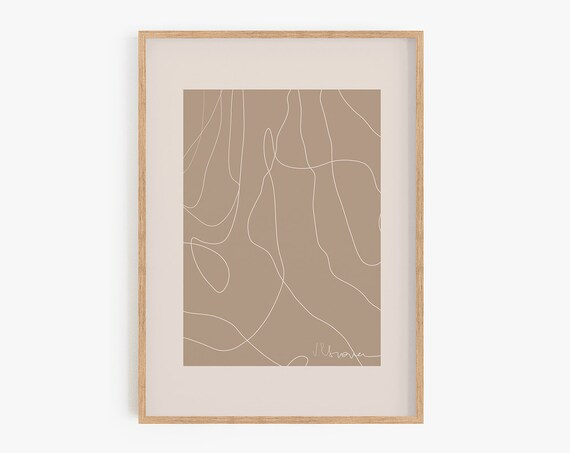 Natural Color Print,Abstract, Boho Wall Decor, Wall Art, Abstract Art,Art Prints, Minimalist,Beige Art,Bohemian Decor, Digital Download,Art