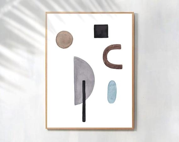 Minimalist Wall Art, Geometric Print, Modern Minimalist Art, Minimalist Print, Home Decor, Geometric Wall art, Digital Prints, Art Prints
