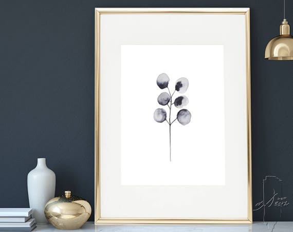 Minimalist Wall Art, Fine Art Print, Modern printable, Abstract Print, Watercolor print, Abstract wall art, Digital Download, Abstract Art