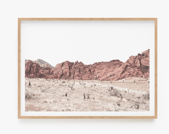 Desert Print Landscape Wall Art Print Desert  Photography Wall Art Print Boho Decor Large Printable Poster Digital print Home Decor Prints