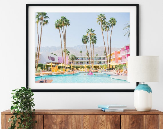 Palm Tree, Saguaro Hotel, Palm Springs, Palm Springs Photo, Digital Print, Art, Wall art, Prints, Tropical,Palm tree print ,Travel prints