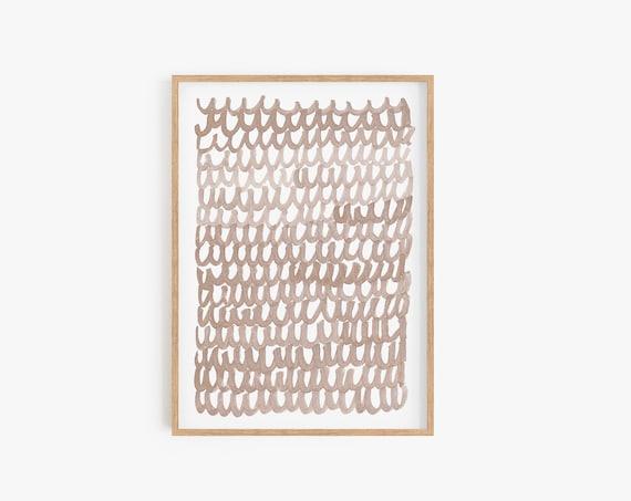 Beige Abstract Art, Beige Print, Gold Print, Abstract Wall Art, Modern Decor, Home Decor, Minimalist Art, Gold Minimalist, Art Prints, Print