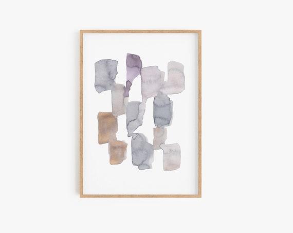 Minimalist Art, Minimalist Print, Watercolor Print, Art Prints, Art Printable, Watercolor Art, Abstract Prints, Abstract Art, Wall Art, Art
