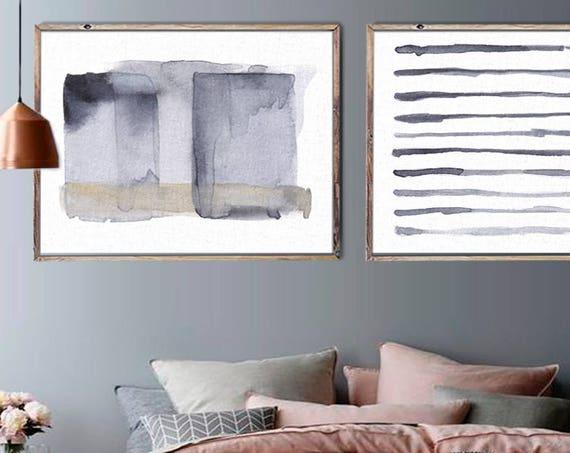 Bohemian art,  Set of 2 Prints, Set of 2, Wall Art, Modern Art, Abstract Art, Prints ,Watercolor, Prints, Scandinavian ,Art, JPEG ,PDF