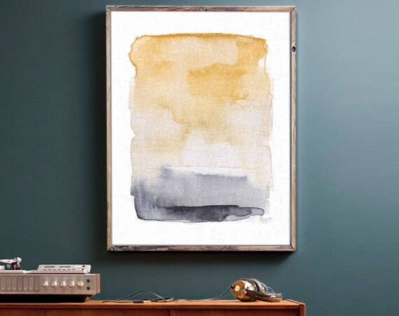 Natural Color Abstract Art, Rustic Wall Decor, Wall Art, Abstract Art, Art Prints, Minimal, Watercolor Art, Rustic Decor, Digital Download