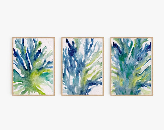 Set of 3 Prints,Water prints,Color Prints,Minimalist Print,Minimalist Wall Art,Large Wall Art,Prints Set,Prints,Wall Art,Prints