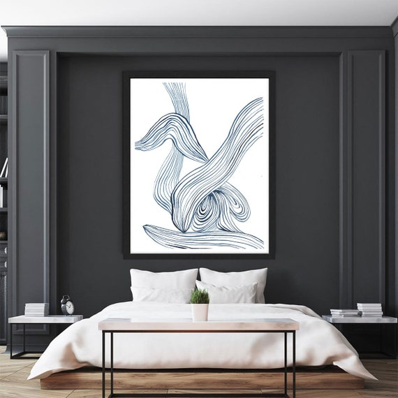 Abstract Wall Art, Minimalist Art, Wall Art,  Black Grey Art, Modern Minimal, Grey Wall Art, Art Poster, Art Print, Modern Art, Large Poster