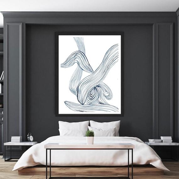 Abstract Wall Art, Minimalist Art, Wall Art,  Black Grey Art, Modern Minimal, Grey Wall Art, Art Poster, Art Print, Modern Art, Large Poster