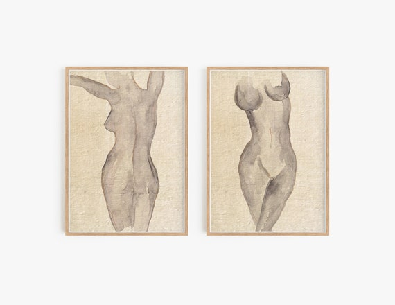 Set of 2 Minimalist Prints, Set of 2 Abstract Wall Art, Contemporary Art, Minimalist Art, Set of 2 Prints, Black White Wall Art, Art Prints