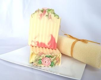 Rose Garden - Handmade Soap, All Natural Soap, Cold Process Soap, Artisan Soap