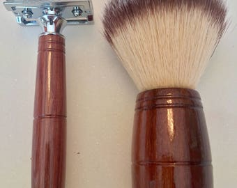 Katalox Double Edge Shaving Set