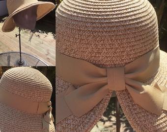 38567d8362a5d Straw   Natural Sun Bonnet