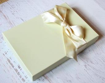 Add Gift Box  and Ribbon