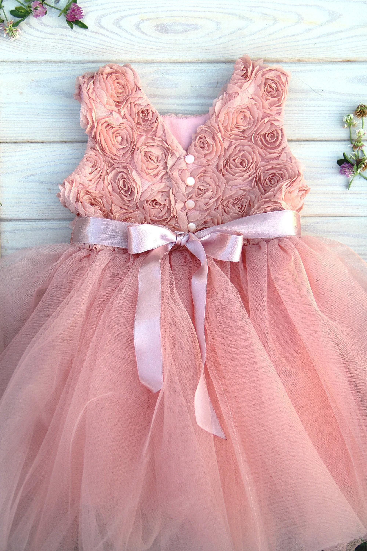 Flower girl dress, Toddler girl dresses, Birthday dress girl, Wedding dress  girl, Special occasion dresses