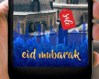 Instant Download Eid Mubarak Ramadan Snapchat Filter