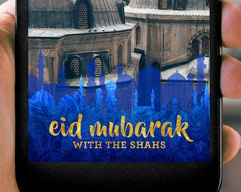 Islamic Skyline Eid Mubarak Iftaar Ramadan Snapchat Filter