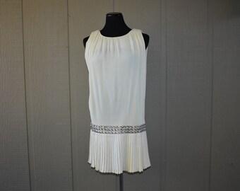 14b1cd26f25 Vintage Pat Richards pleated dress
