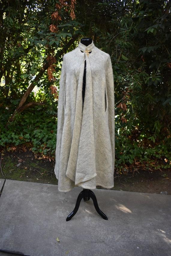Vintage Mohair Pauline Trigere cape