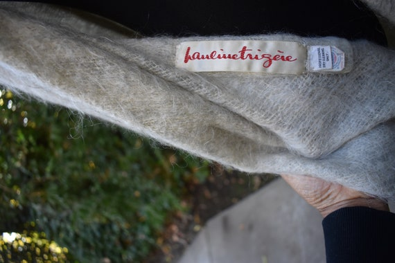 Vintage Mohair Pauline Trigere cape - image 6