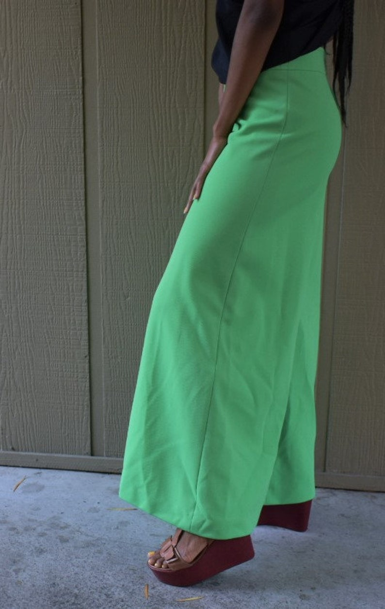 1960/'s Electric Green John Meyer pants