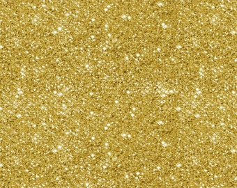 Holiday Metals Gold Metallic Stars on Green Cotton Fabric Fat Quarter