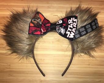 STAR WARS Chewbacca Disney Ears