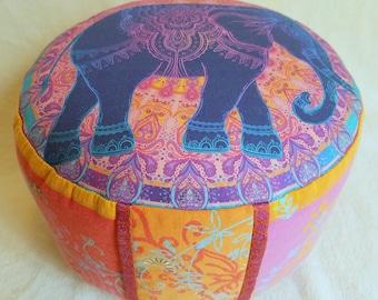Meditation pillow yoga pillow Bassetti fabric yoga meditation Tantra Zafu bolster floor cushion seat cushion pillow full moon mandala