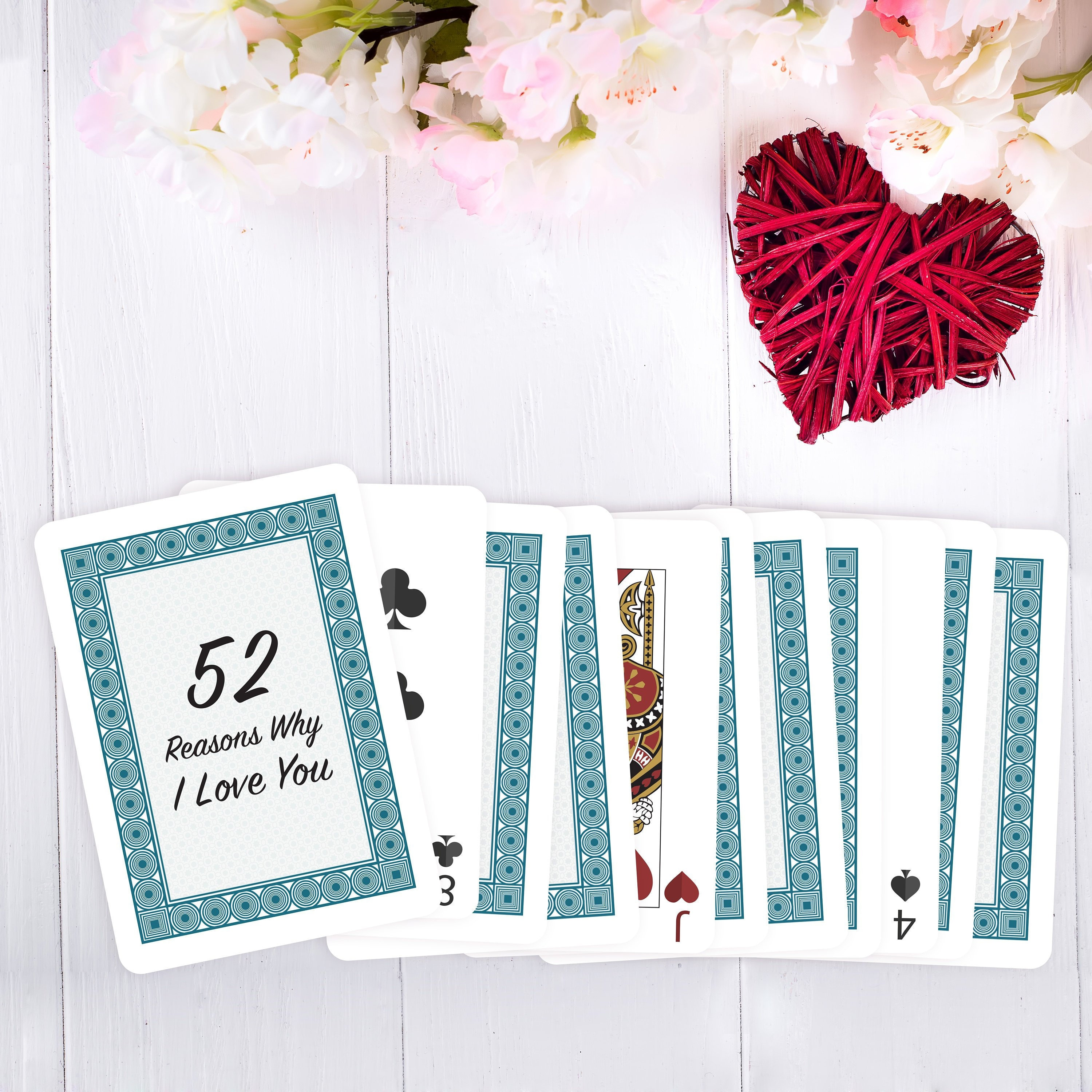 21 Reasons Why I/We Love You Deck of Cards, Blank Cards, Playing Cards, DIY  Personalized Gift Throughout 52 Things I Love About You Deck Of Cards Template