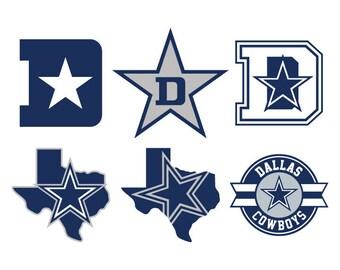 Dallas Cowboys SVG Cut Files, Dallas Cowboys DXF Cutting Files, Dallas Cowboys Svg Dxf Png Cuttable File, Dallas Cowboy SVG Instant Download