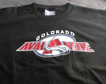 Colorado Avalanche Vintage Hockey Shirt - Vintage NHL Shirt - Lee Sports  Tag - Vintage NHL Hockey Team Shirt - Size XL 15ddab2f8