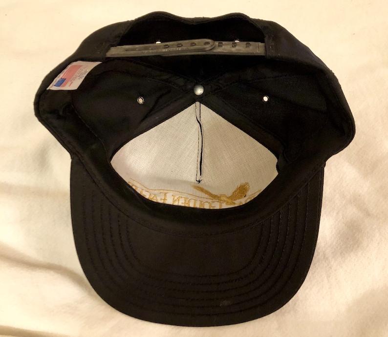 49d14174 Vintage NRA Golden Eagles Five Panel Snap Back Hat Like New | Etsy