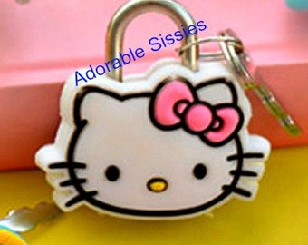 ABDL Baby Sissy  Cartoon Padlock of a cature cute perfect for every sissy abdl to be locked in with your own padlock