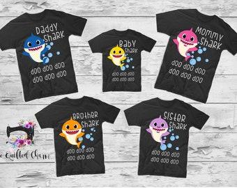 35cfa8810ae Baby shark birthday shirt