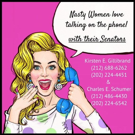 Nasty talking women